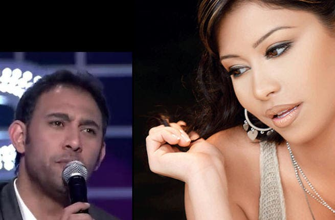 "'Voice' coach and diva-extraordinaire, Sherine Abdel Wahab, got herself in hot water yet again when she chewed out star, Amr Mostafa's, singing abilities. Unable to resist, he hit back with snide comments about Sherine's ""psychological problems"": a low blow."