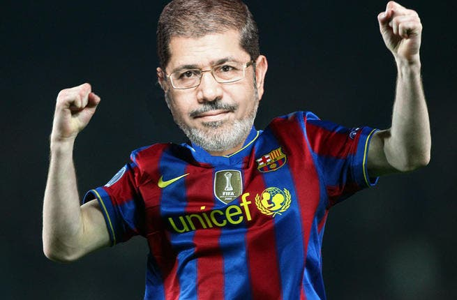 In spite of all the violence, Egyptians haven't lost their characteristic sense of humor. One gag doing the rounds has been the pun on Mohammed Mursi's name. Some smart alec Salafi Sheikh came up with calling Mursi - already leading in the polls-  footballer 'Messi' of Barcelona of the race, destined to score the presidential goal.