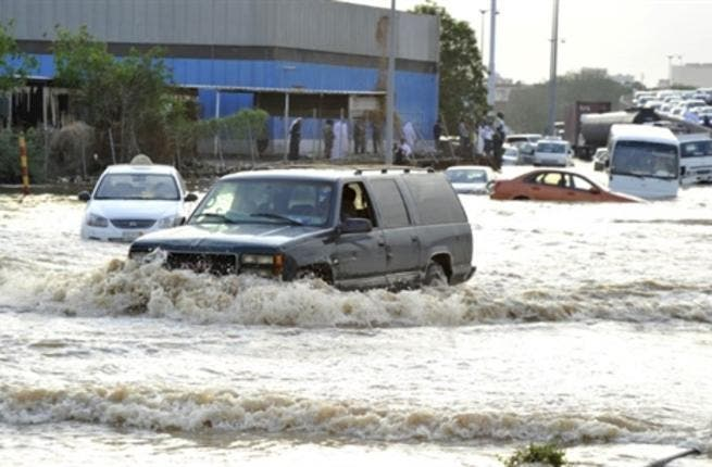 With all the anger raining down on the region, we are reminded of the fury of rainfall can show in Jeddah.