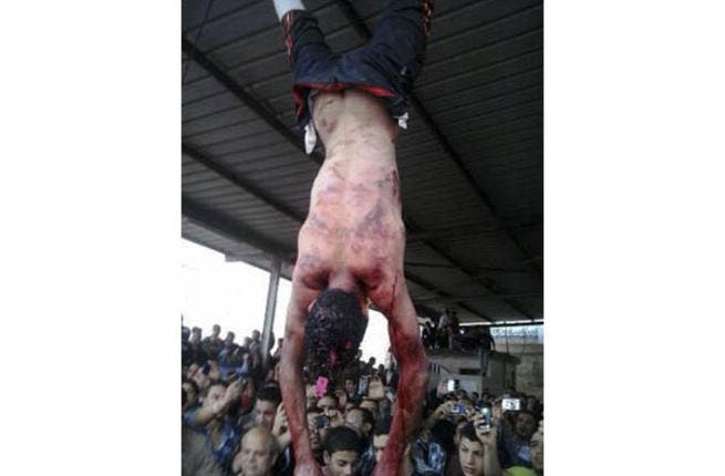 Egypt has seen a spate of mob murders. Here, a thief is hanged by vigilantes. Political deadlock, a stagnant economy, and now a security breakdown has caused Egyptians to take the law into their own hands, leaving solutions hanging in the balance beyond the reach of the flailing president.