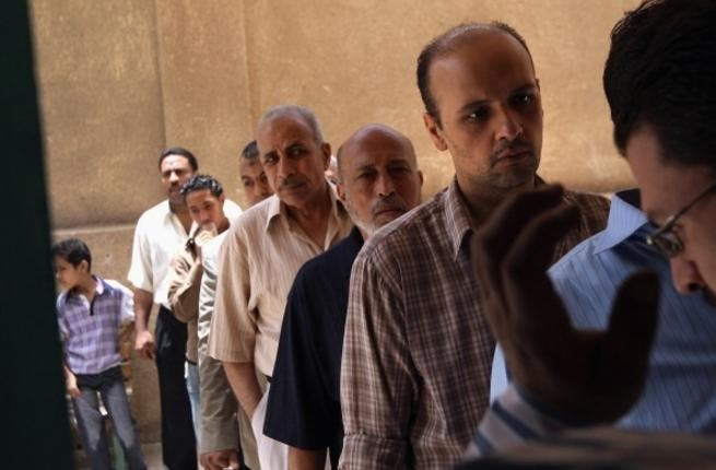 Arabs queuing? Get to the back of the line! Time for some democracy in action when People's Assembly Speaker and Muslim Brotherhood leader Saad al-Katatny arrived at the polling station to cast his ballot. Confident he was a VIP, he tried to jump the queue but voters told him in no uncertain terms to wait his turn just like everyone else.