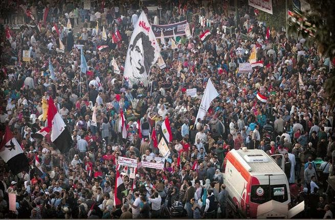 Liberal shelter from the storm: In response to Morsi's new powers and the growing clout of the Islamic judiciary, liberal groups organized more effectively than previous youth movements, creating a 'National Salvation Front'. The umbrella group has backed protesters and independent judges and called for mass protests to reject the referendum.