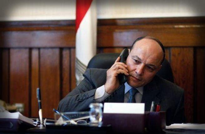 Out with the new: Public prosecutor Talaat Ibrahim Abdallah resigned after a furore among judges who said Morsi's decision in November to sack the former public prosecutor and appoint Mr Abdallah was an assault on their independence.