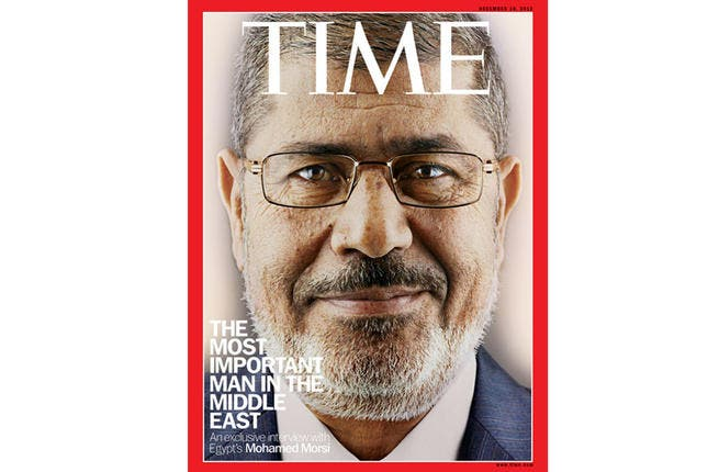A blur of brands: In just a week Morsi was hailed a peacemaker, statesman and savior, and denounced a pharaoh and tyrant by his opponents. By the end of the month, he was pushing a controversial draft constitution and, in an, at times bizarre, Time magazine interview, he put any mixed signals down to beginners luck and