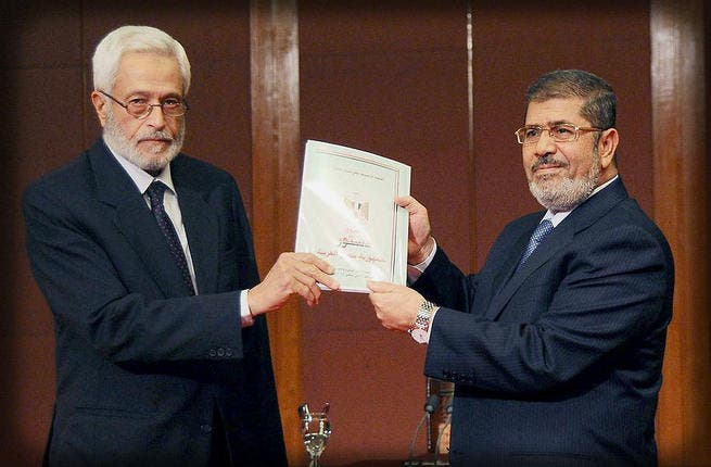 You decide: On the back of opposition to a rushed through constitution, Morsi called a snap referendum on the country's new draft constitution in order to expedite it before the constitutional court could dissolve the assembly. This was damage control, he admitted, in order to annul the decree, which expired with the passing of the constitution.