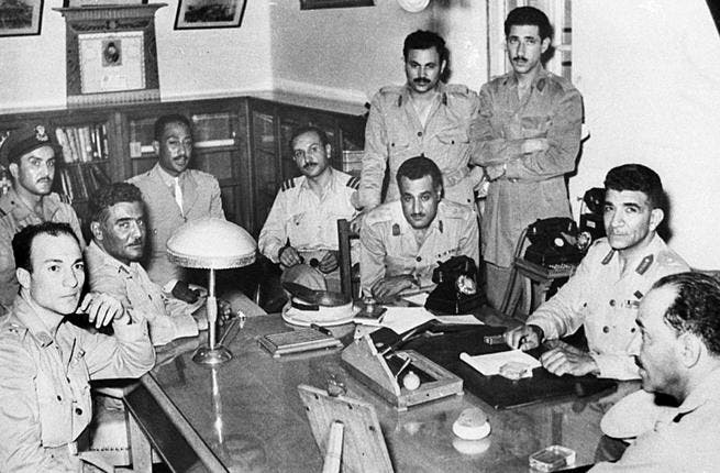 1952 heralded the era of 'military command' that arguably took hold til the People Revolution of 2011. The1952 coup d'etat sewed the seed of the start of a beautiful friendship, driven by military fellow and darling of Egypt 2nd President, Nasser.