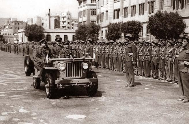 Royalty-free: This coup left Egypt free of the throne of a monarchy and King Farouk (above), and instead, with the seat of Presidency and a Republic. Today the military are steering the country again, in charge as the Supreme Council of the Armed Forces (SCAF), assuming power, February 11, 2011.