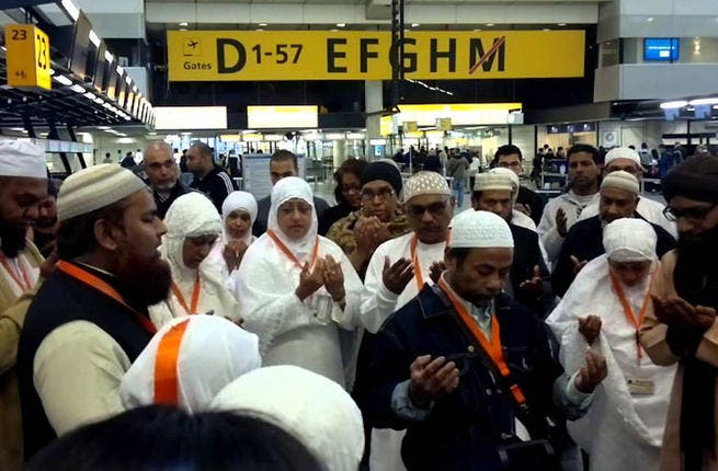 Airport jam: During Eid, the streets of your town become as empty as a deserted desert. However, the airports become as full as a deserted desert filled with thousands of returning Hajj pilgrims, not to mention Eid holiday-makers. With the long airport lines, you'll begin to wonder if taking airplanes is really the fastest form of travel.