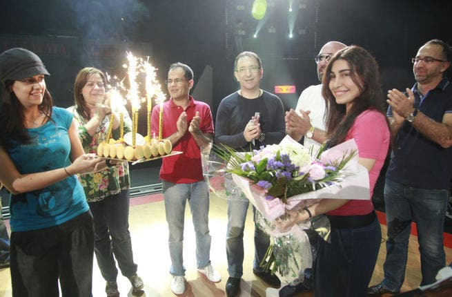 Tara Ta Ta staff celebrate singer Yara's birthday.