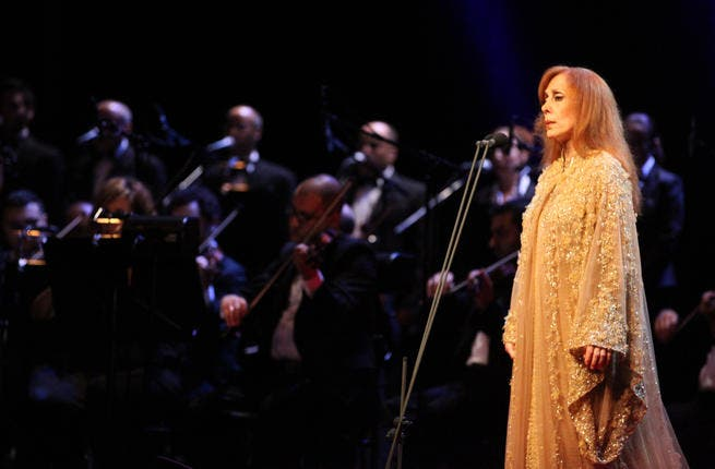 The legendary singer Fairuz made an appearance  for all her fans gathered in Amsterdam, during the
