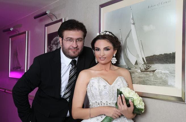 The media Industry is celebrating the wedding of both media figures, journalists, Princess Rania Shehab and Samir Saaaati.