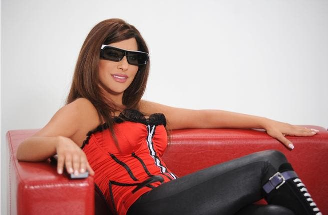 The first 3D video clip in the Middle East was shot for Najwa Karam's song.