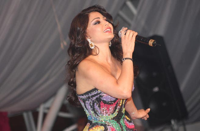 Haifa Wahbe entertained her Lebanese & Arab fans in a special show at Movenpick in Beirut.
