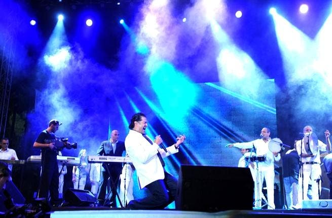 Lebanese mega-celebrity Ragheb Alama was the biggest on-stage hit at the Dhour Choueir festival at the end of this summer,  where the Arab tourists were thrilled to see him.