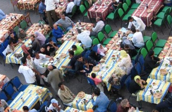 Ramadan Kareem ('is generous'): Celebrities in the Muslim world, notoriously in Egypt, like to donate to charity at Ramadan,  whilst in turn spending a lot on those  public extravagant displays of their bounty.  Some spend extortionately in laying on their
