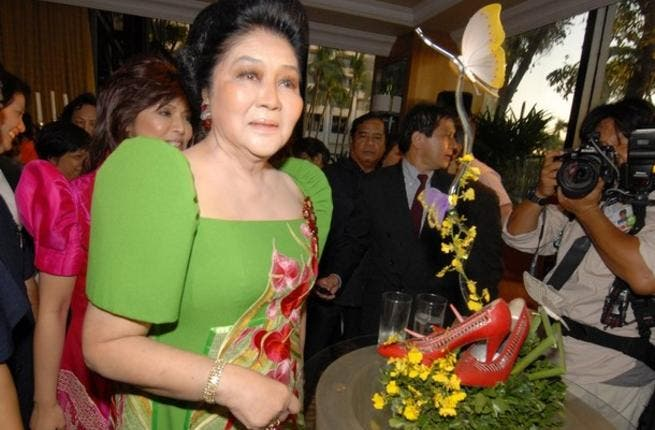 Philippines: Imelda Marcos 'Steel or Iron Butterfly' links all these First Ladies together under the umbrella of shoe-fetish! Most of our Leading Ladies have well stocked wardrobes. Known for her corruption trials and her 2,700 pairs of shoes!