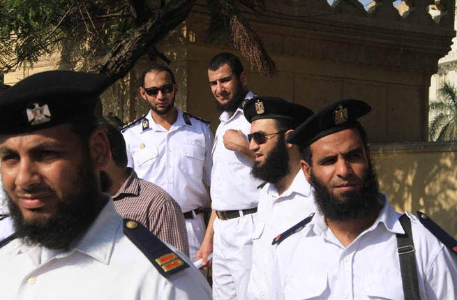 A close shave: Last year, Egypt barred bearded police officers from the force. But luckily for the hairy cops, Salafi Sheikh, Yasser Brohami, issued a fatwa calling on the president to bring them back. In February, an Egyptian court ordered the Interior Ministry to reinstate the bearded officers.