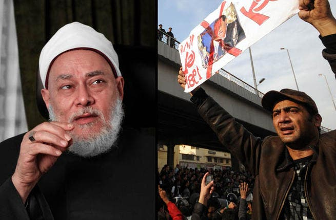 Killing the competition: Last month, controversial preacher Mohamed Ahmed Abdullah, accused Egypt's Grand Mufti Sheikh Ali Gomaa of issuing a fatwa sanctioning the killing of the country's opposition. Others have since shot down the accusation.