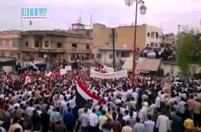 On with the revolution! The Committee for Muslim Scientists of Syria released a long-considered fatwa enjoining all to participate in the Syrian uprising.  It commits Muslims to standing by the people's struggle for freedom from the injustice of the Syrian regime, helping them to restore their freedom and dignity.
