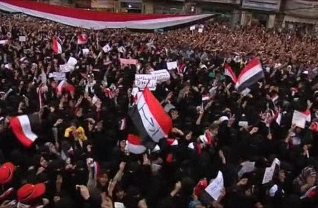 Single sex protesting for women pleases Abdullah Saleh more than mixed protests: Yemen President saying the mingling of men and women at protests in the capital was against Islamic law.