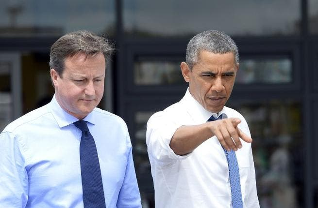 """Obama's faithful sidekick David Cameron has also got his posh hands dirty on the subject of Syria, telling the press at a conference in Washington, """"'Syria's history is being written in the blood of her people and it's happening on our watch."""""""