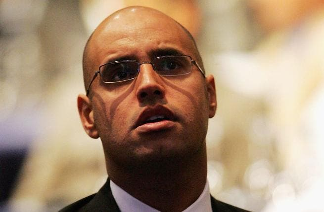 Gadaffi's son, Saif al-Islam al-Gaddafi, has been accused of money-laundering and endangering an international journalist's life. He is the president of the Libyan National Association for Drugs and Narcotics Control (DNAG).