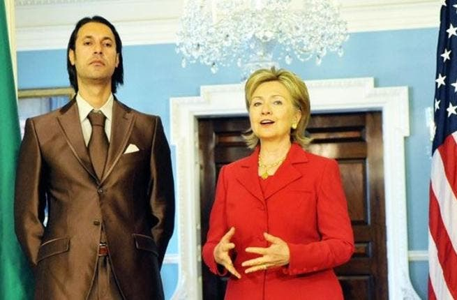 Mutassim Gaddafi - He met with U.S. Secretary of State Hillary Clinton, as his father's national security advisor. Though one wonders if he can be trusted to represent his father after attempting to oust him once.