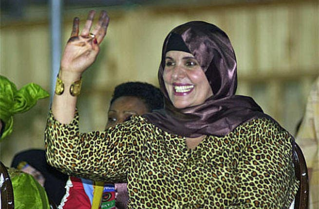 Safia al-Gaddafi: Gaddafi's second wife and mother of seven of his biological children. The couple also adopted a son and daughter, one,  Milad, who has survived.