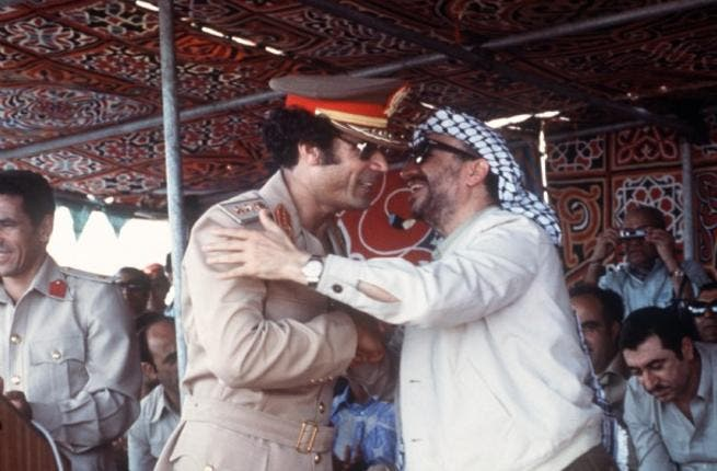 This blossomd relationship with Israel begs the question of Gaddafi's loyalty to Palestine as one-time  friend of freedomfighter Arafat. Though with the Arab world  turning on him, no wonder he feels more of an affiliation for Africa and maybe Israel.