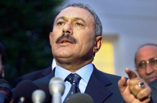 Peak of his own catastrophe: While threatening to finish his people off til the last drop of Libyan blood,  Gaddafi has the 'gall' to comment, even preach on a fellow besieged Arab dictatorship: On Yemen's affairs and Ali Abdullah  Saleh: 'Enough bloodshed; Saleh must step down, he is not wanted!'