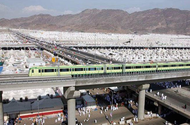 Mecca Metro: The first phase of the pending massive 4 railway project, Al Mashaaer Al Mugaddassah Metro, was launched in 2010. Metro Mashallah could be a pertinent tag for its super speed and high passenger capacity. Since the expansion has been slow in the offing, perhaps Metro Inshallah would be a more apt appellation for the plodding project.