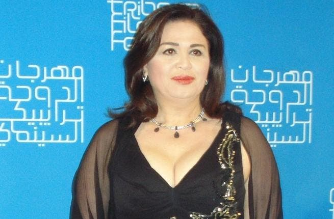 Try Hajj! Elham Shahin was left red-faced earlier this year when Sheikh Abdallah Badr of conservative TV channel 'El-Hafez' circulated racy photos of the actress, asking on live TV: