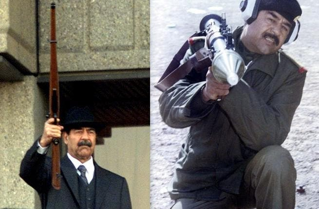 Saddam Hussein invaded Kuwait: And by doing so, he alienated the world and quite shot himself in the foot, it could be said. Power he could have been spending on really 'saving' Palestine or some such more shared 'Arab cause'.