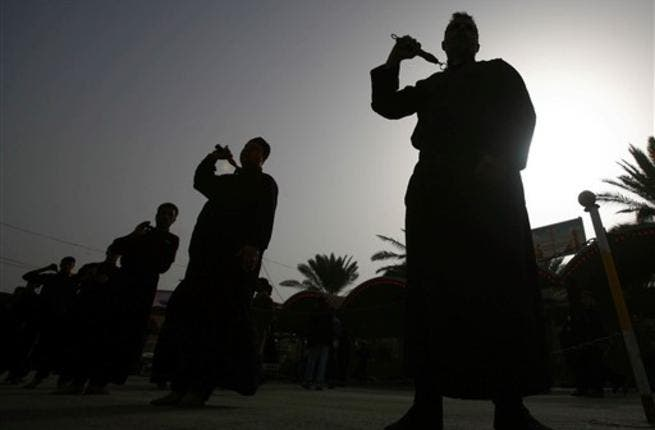 Believers prepare to mark the religious event of Ashura on December 17 in commemoration of ten days of mourning for Imam Hussein, the grandson of Prophet Mohammed who was killed in the Battle of Karbala, in the year A.D.