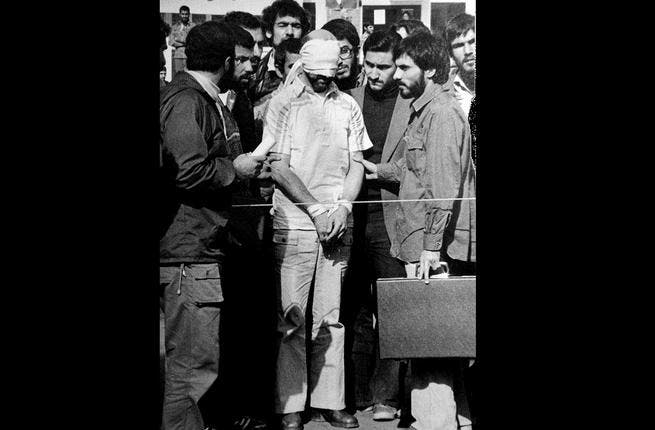Iran's US Hostage Crisis: The Islamic revolution of 1979 strained relations between Iran & its Arab neighbors, let alone Iran & the 