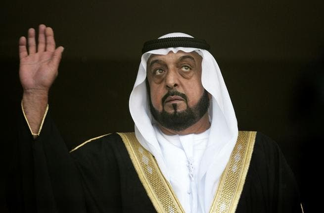 UAE's Khalifa bin Zayed Al Nahyan has been involved in a low-level historical dispute, which has flared up again recently, over 