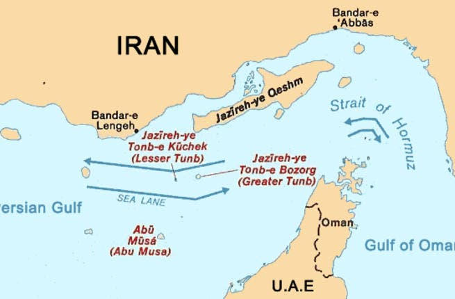 Further ado about territory: 3 islands are contested by the UAE & Iran: Abu Musa of the Strait of Hormuz is claimed by both 