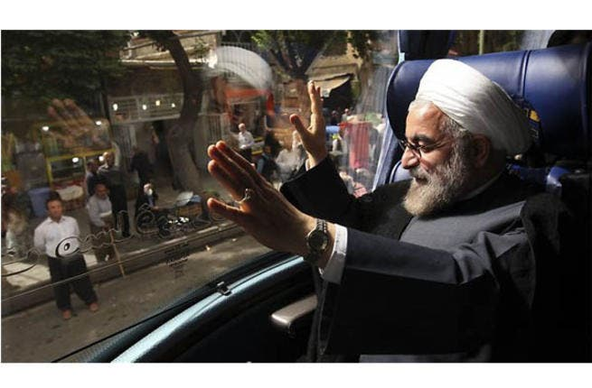 Dark horse: Hassan Rouhani has come from nowhere to top the opinion polls going into election day. As the campaigns began, he was on a mere 3% but with the reformist camp behind him, he's emerged as the new favorite. According to an Aftab field poll on June 10, the moderate-leaning candidate is on a weighty 27.2% of the popular vote