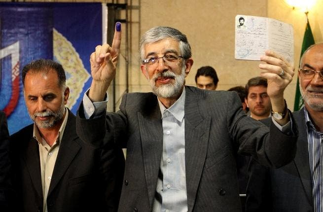 Former parliamentary speaker Gholamali Haddad has formed a coalition with fellow conservatives with close links to Ayatollah Khamenei.