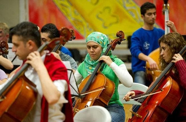 The National Youth Orchestra of Iraq was born in 2009, with the aim of bringing together young Sunni and Shia musicians from all across the divided country. With a mission of showing 'the real face of Iraq,' the orchestra has performed across Europe and are currently well underway with preparations for a summer 2013 tour.