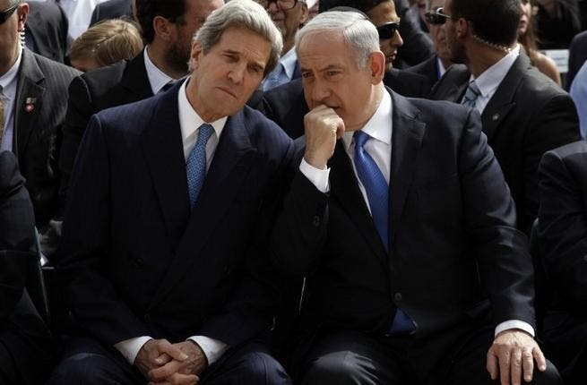 Obama may have declared the States' never-ending love for Israel but it's JK who's been putting in the groundwork with Bibi, making time for four meetings in three weeks. That's definitely more than he's seen his missus!