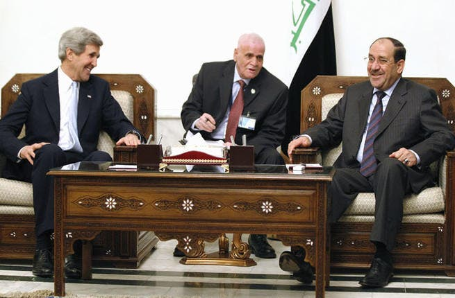 Whilst refusing to back the armed rebel opposition on the ground in Syria, the US publicly chastised Iraq for facilitating weapons deliveries to the embattled Assad regime. Kerry's statement during the surprise trip to Baghdad was as cross as we've seen him so far.