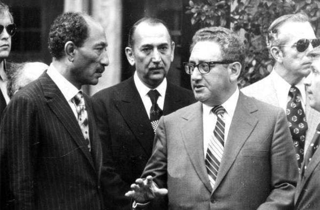 """Kissinger became synonymous with the phrase """"shuttle diplomacy"""" after his efforts during the Yom Kippur war, where he would dart between feuding sides in the search for peace. With Kerry's latest traipse around the Mideast, it appears that the White House has deployed a tried and tested technique that relies on air-travel and face-meetings."""