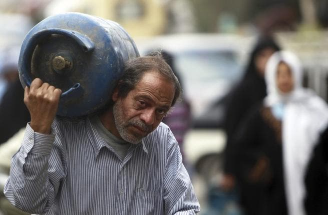 The gasman in Arab world terms differs from a guy who visits your house to read the gas meter. This archetypal man often wears a gas company uniform, and offers gas & plumbing services. Our Arabic counterpart can be seen on the streets lugging supplies of gas barrels for home stoves & heating. His truck emits a signature 'ice-cream' van tune.