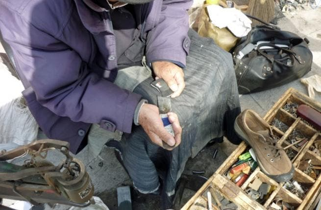 Shoe cleaners are abundant in the region, but unlike some metropolises they can be found outside the transportation hubs, beyond the train stations. With that friendly polish comes a bond established with regular customers who start to know their street corners by their shoe-cleaning fixture.
