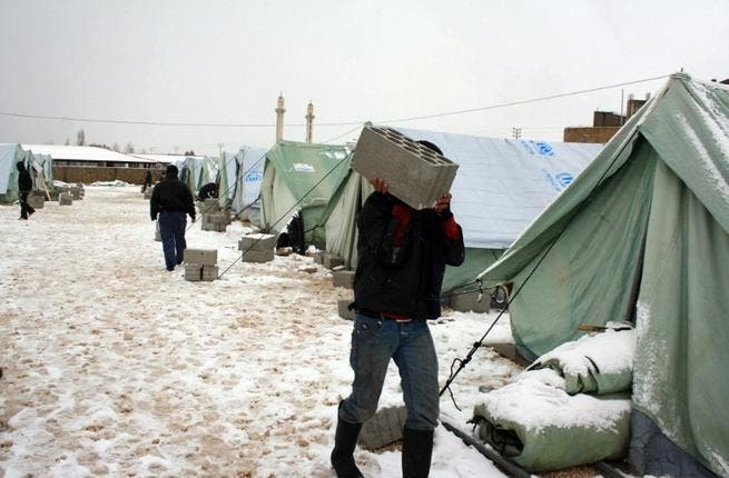 Lebanon's camp community took the brunt of the region's raging winter: bad weather sparked widespread flooding, prompting chaos on the roads and nationwide closures. At least 156,000 Syrian refugees have stopped off in Lebanon on top of pre-existing populations of Palestinian refugees - all of whom were vulnerable to the ravages of the storm.