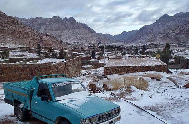Any port in a storm for snowy Sinai: Mideast storm forces port lockdown: Several ports in Egypt were forced to close and traffic through the Suez Canal was cut in half because of harsh conditions.