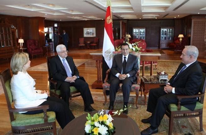 Regional mediator? In 2010, Mubarak hosts the latest round of peace talks between Abbas and Netinyahu, held in Sharm el Sheikh.