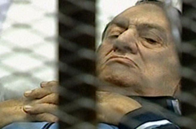 Plaintiff? 2012: After a long bed-ridden trial, Mubarak was sentenced to life, not death (as some had hoped).