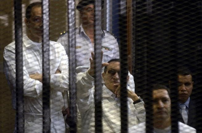 Also on trial with Hosni Mubarak were his two sons, Gamal and Alaa, who are charged with corruption and squandering public funds. In the courtroom, the three accused smiled at each other and exchanged pleasantries, infuriating Egyptians watching on television after it was given extensive coverage by public and private channels.